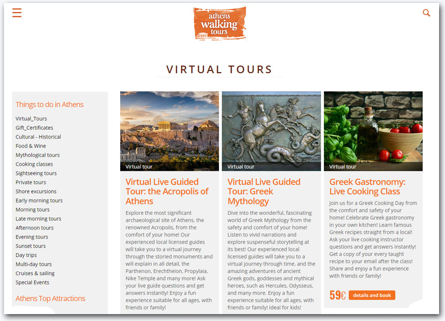 Athens Walking Tours | Tourism Portal